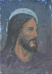 Man of Help Jesus Christ painting by Anthony Sweat
