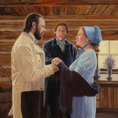 Benjamin Melissa Johnson Eternal Marriage Joseph Smith Doctrine and Covenants 131