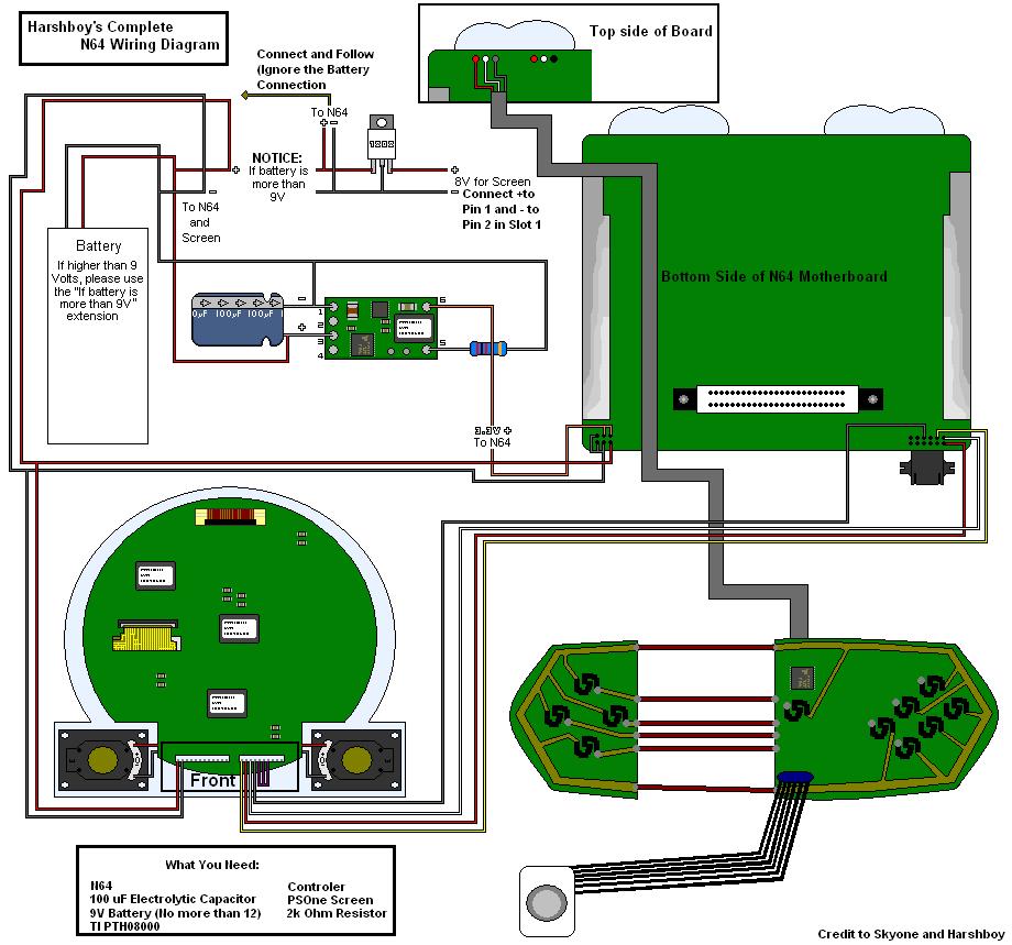 hight resolution of nintendo 64 wiring diagram wiring diagram yer nintendo 64 av cable wiring diagram nintendo 64 wiring diagram