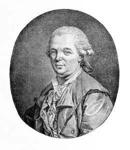 Franz Anton Mesmer zur Zeit seines Aufenthaltes in Paris
