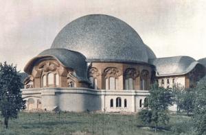 Erstes Goetheanum. vollendet 1920