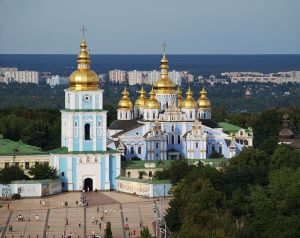 St. Michael's Kathedrale in Kiew, Ukraine. Foto: Petar Milošević.