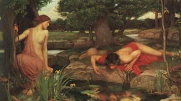 John William Waterhouse, Echo und Narziss