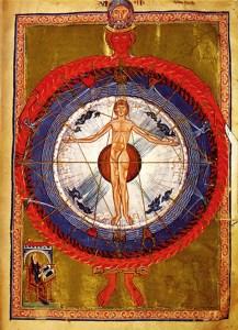 Makroanthropos, Hildegard von Bingen