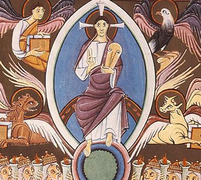 Christus und das hohe Sonnenwesen