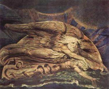 William Blake, Elohim erschafft Adam