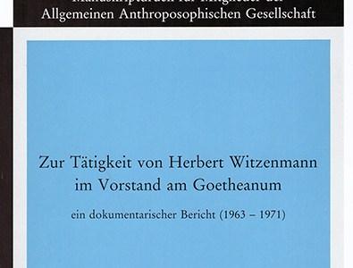 Die »Philosophie der Freiheit« Rudolf Steiners und die »Strukturphänomenologie« Herbert Witzenmanns