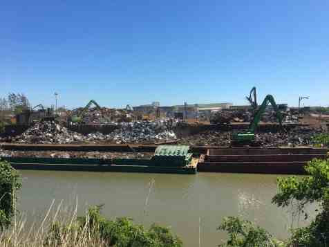 Houston metal recycling facility