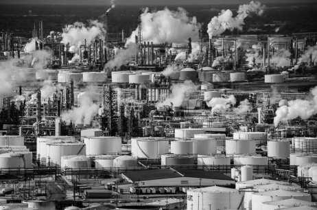 Chemical storage tanks in Houston, TX