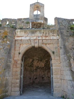 Asos castle entrance