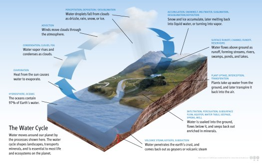 Visual of Water Cycle
