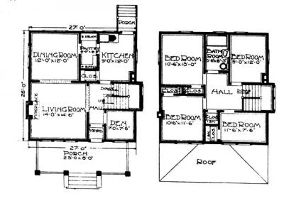 Four Square House Plans With Garage – Idea Home And House
