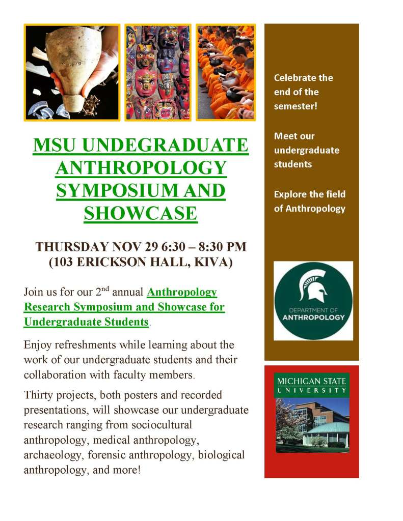 flyer for undergrad research showcase