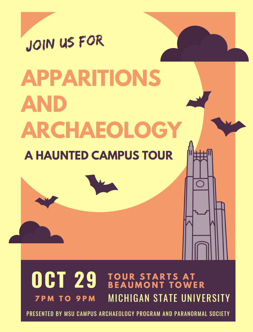 Apparitions and Archaeology Tour 2019