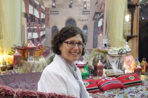 Dr. Mara Leichtman at Gergean Celebration, Kuwait