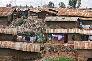 """Slums"" of Nairobi, Kenya"