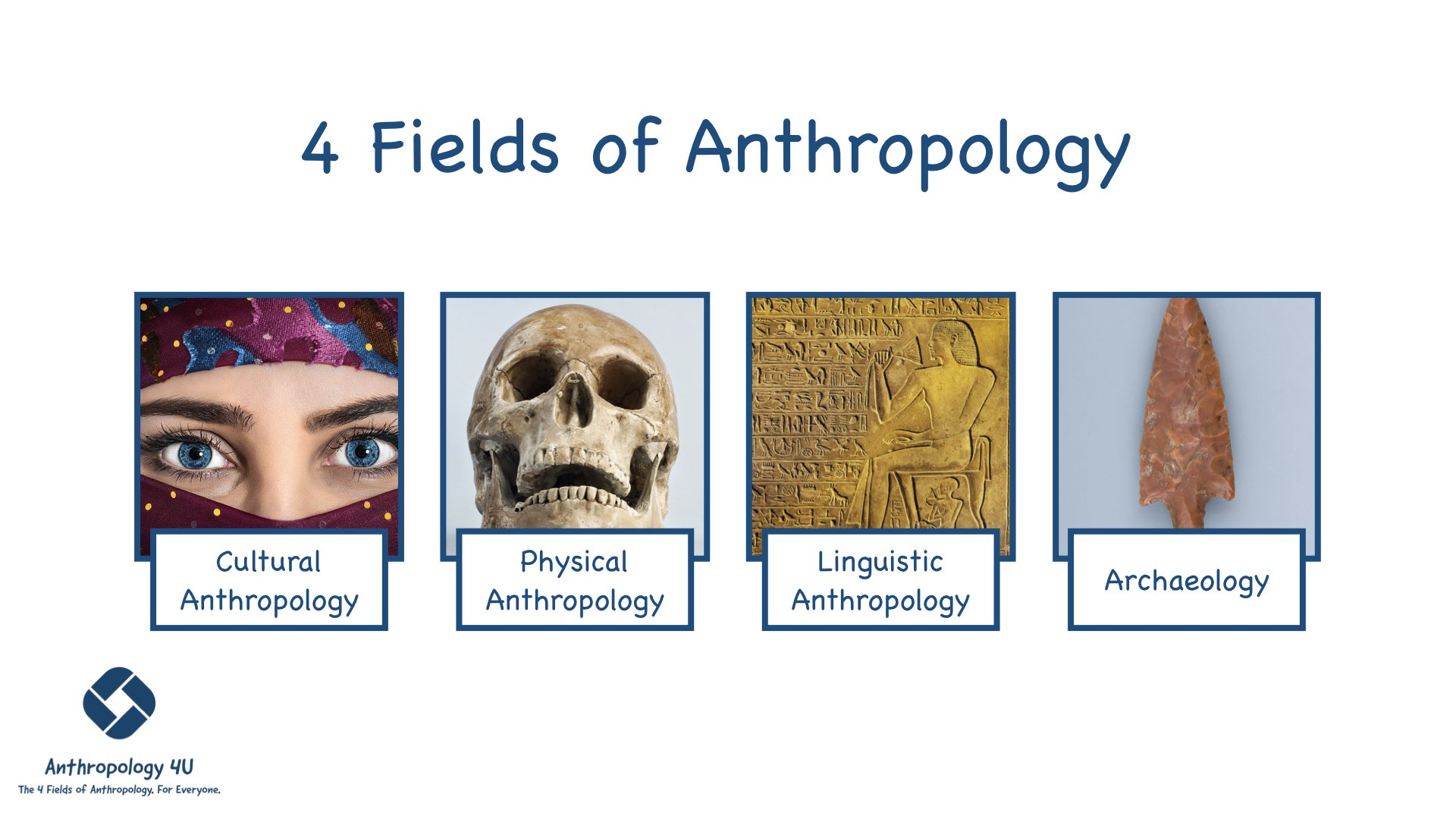 A Beginner's Guide to the 4 Fields of Anthropology - Anthropology 4U