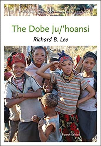 The Dobe Ju/'Hoansi book cover