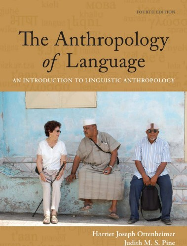 The Anthropology of language book cover