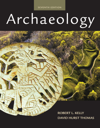 Archaeology textbook book cover