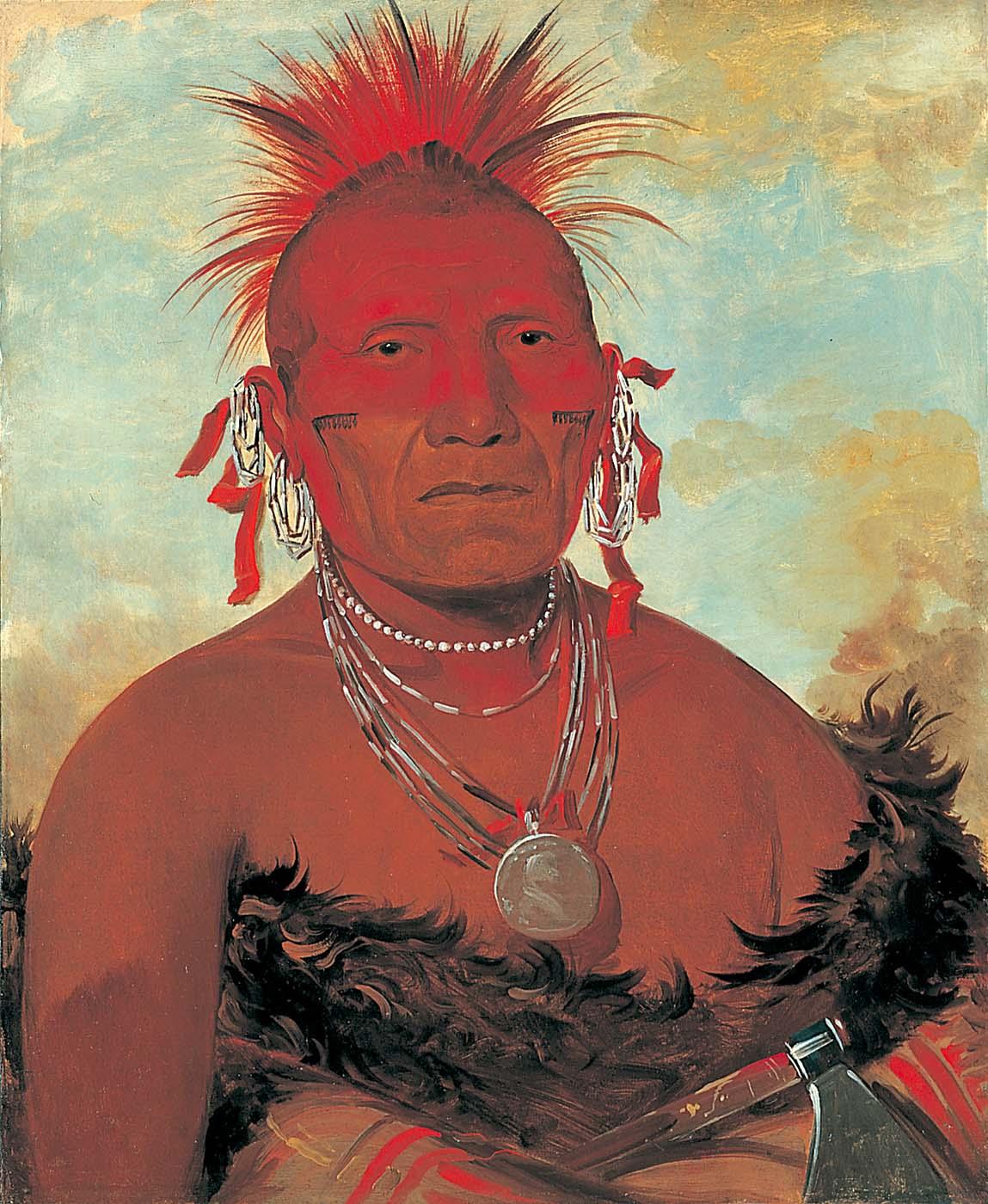 Native American Face Paint Customs Colors Designs
