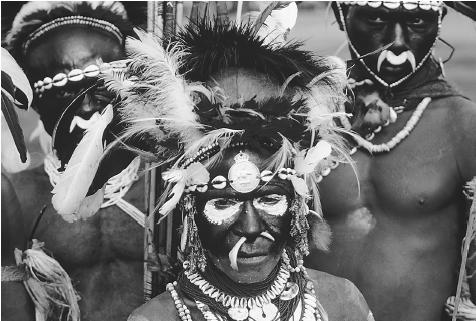 Papua New Guinean Tribesmen