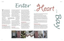 A two pages editorial about the city of Hayward, ca