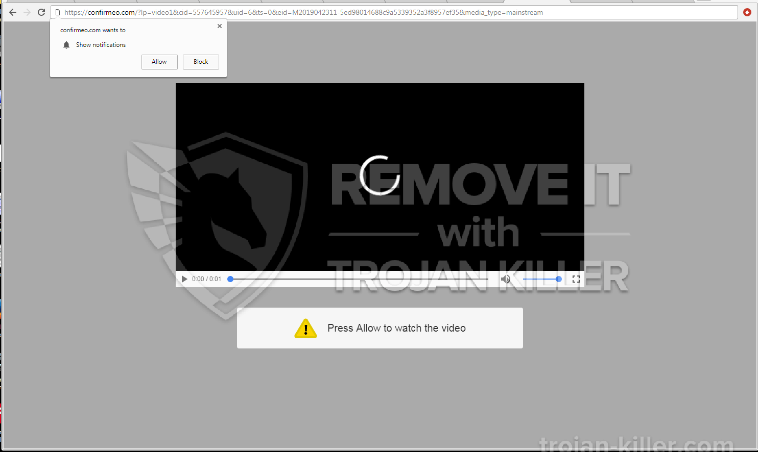 remove Confirmeo.com