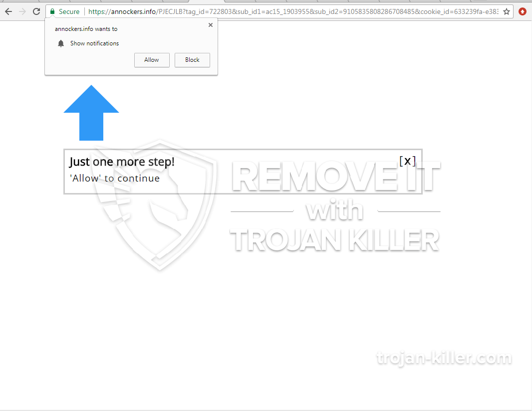 remove Annockers.info