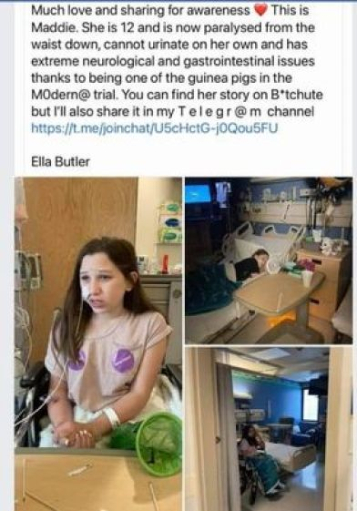 disabled-child-paralysis-moderna-vaccine-side-effects-complications-insert