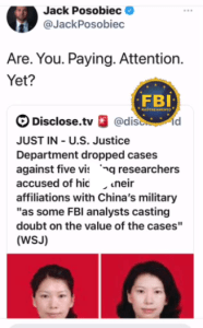 united states,justice department,cases,chinas,military,visiting,researchers,fbi