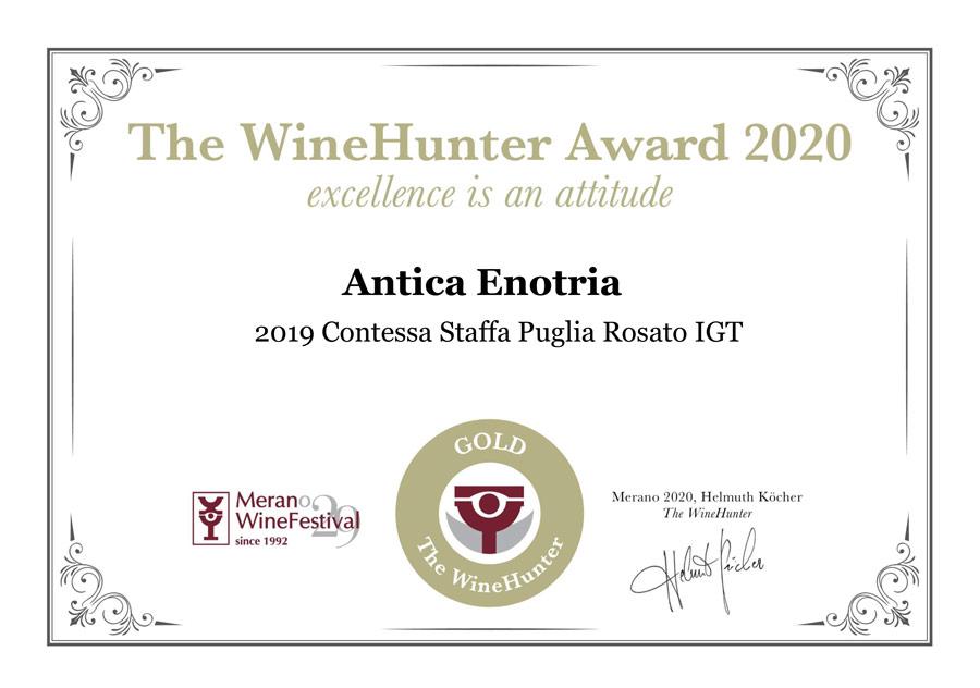 Winehunter Award 2020