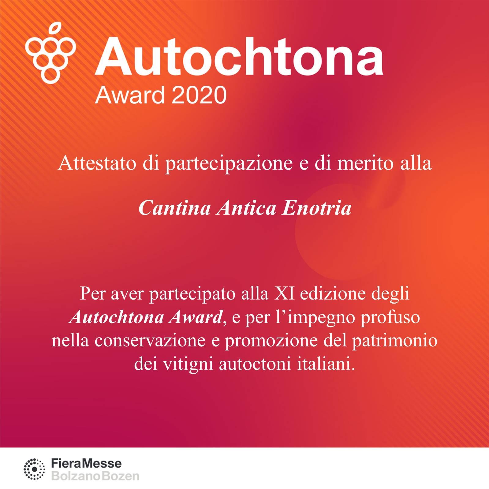 Autochtona Award 2020