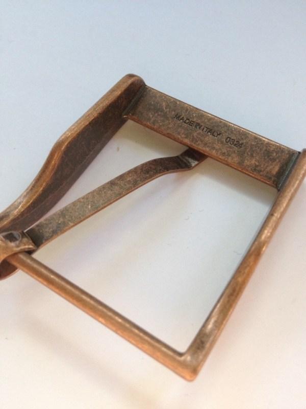 Пряжка для ремня 40 мм ст медь Италия | 300р. | 3