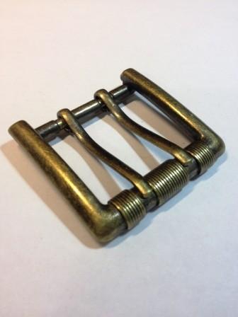 Пряжка для ремня с двумя язычками для ремня шириной 40 мм | 220р. | 1