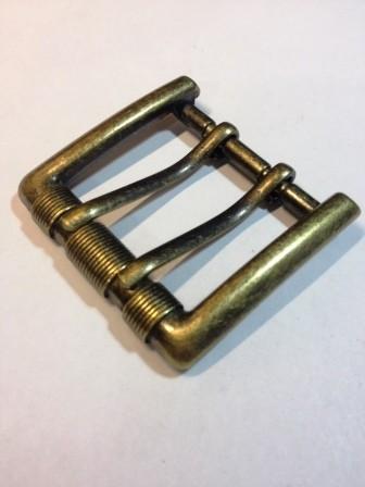 Пряжка для ремня с двумя язычками для ремня шириной 40 мм | 220р. | 6