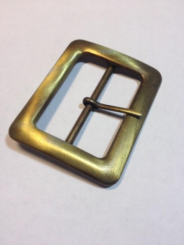 Пряжка 40 мм старая латунь сатин Фурнитура для кожгалантереи | 90р. | 1