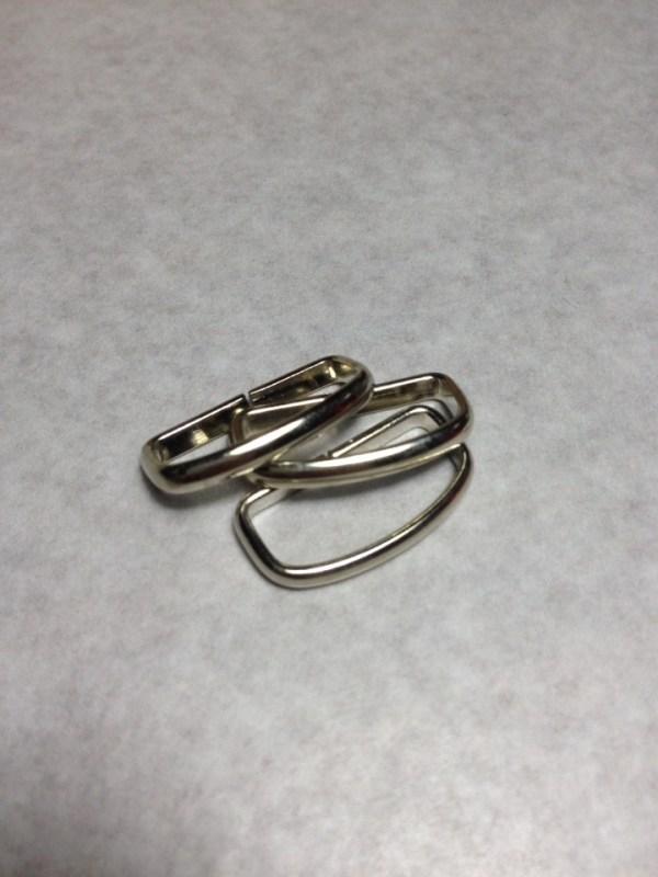 Шлевки проволочные никель