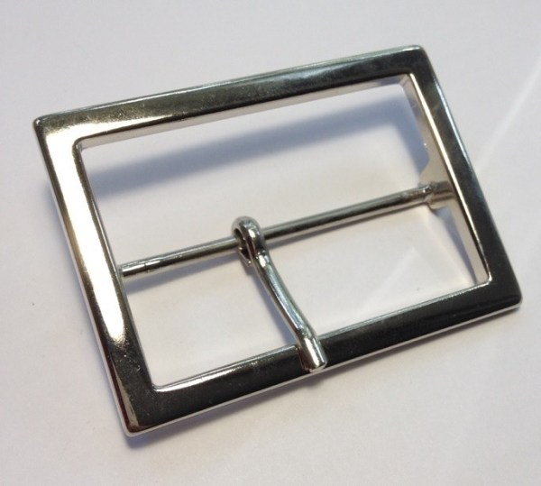 Пряжка 60 мм никель для женского ремня
