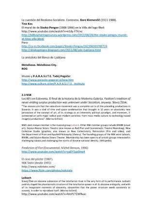 Historias del arte de Eslovenia. Modelos de actuación recientes. Conferencia de Francisco Tomsich, MNAV, Montevideo, 26 de julio de 2014_Página_3