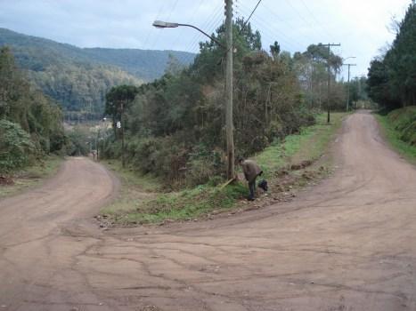 CRUCE DE CAMINOS EN RIOZINHO