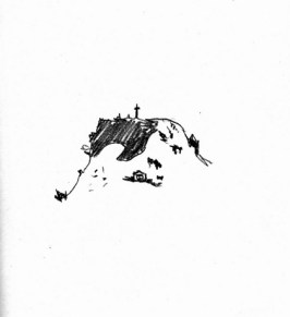 TDUEPURC-6-Tambores-Cerro Cementerio-Lápiz sobre papel obra (Copiar) (Copiar)