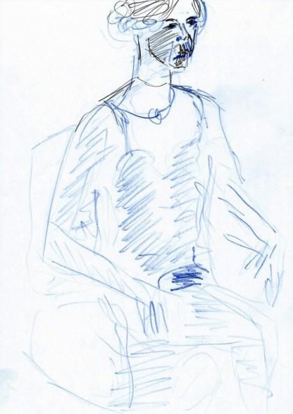 RACHEL SITTING, COPY