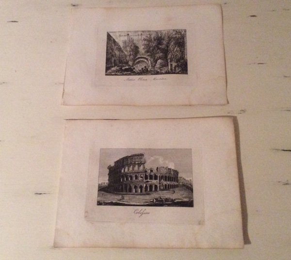Antique prints for sale 2 for €12