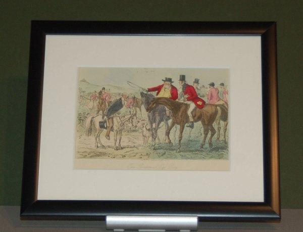 1854 framed John Leech Print