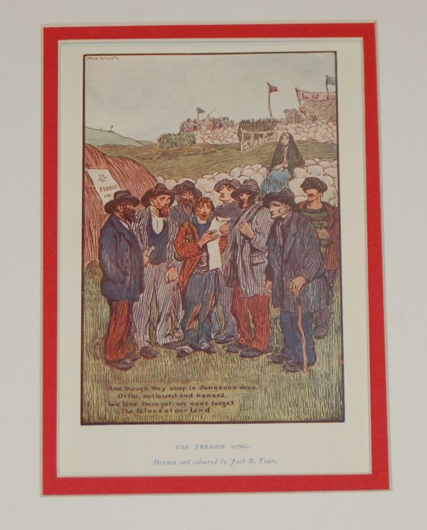 Jack B Yeats Print for Sale, The Treason Song from 1912