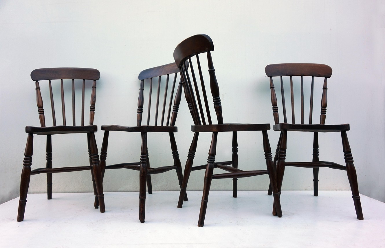 Country Kitchen Chairs Set Of 4 Windsor Kitchen Chairs