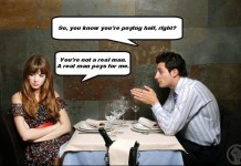 What happened to equality when paying on a date?