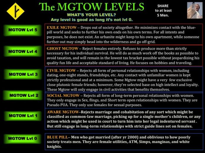 The growth of MGTOW