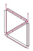 Esquema geometric triangulo